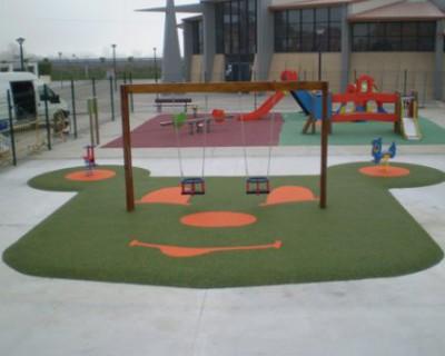 Parques Infantiles y suelo de seguridad