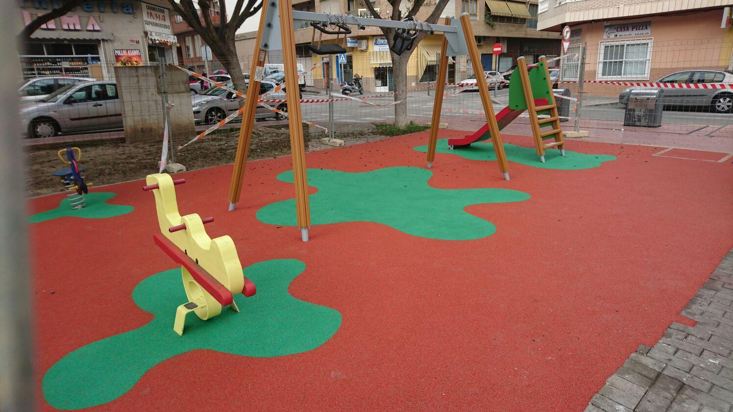 Parque Infantil en Guardamar del Segura