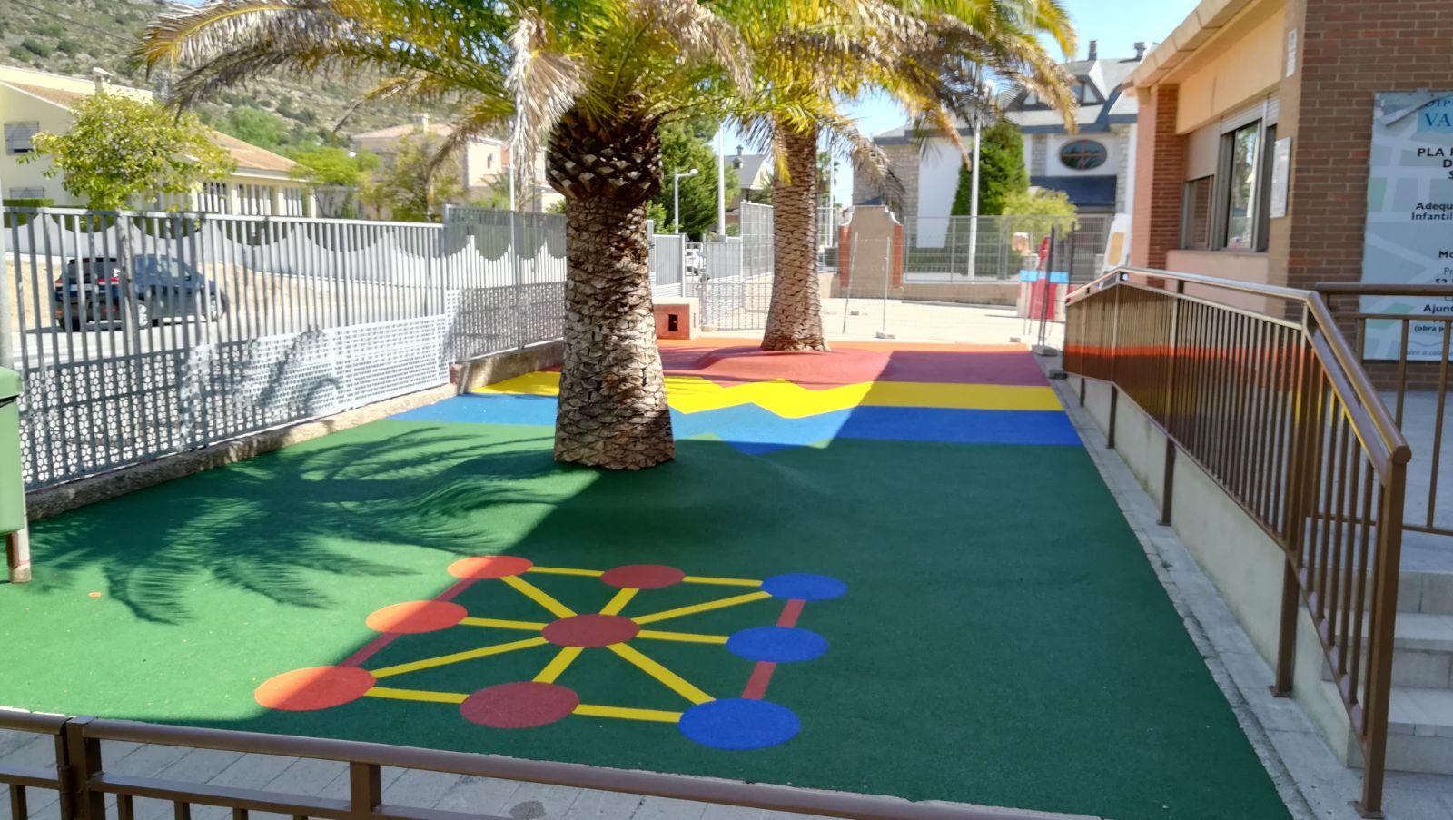 Parques infantiles troe parques y mobiliario - Suelos vinilicos infantiles ...