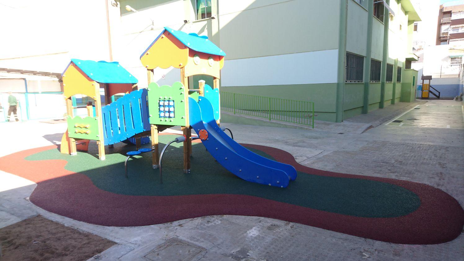 Juegos Infantiles en Centro Educativo