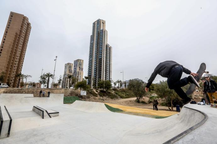 skate park y pump track