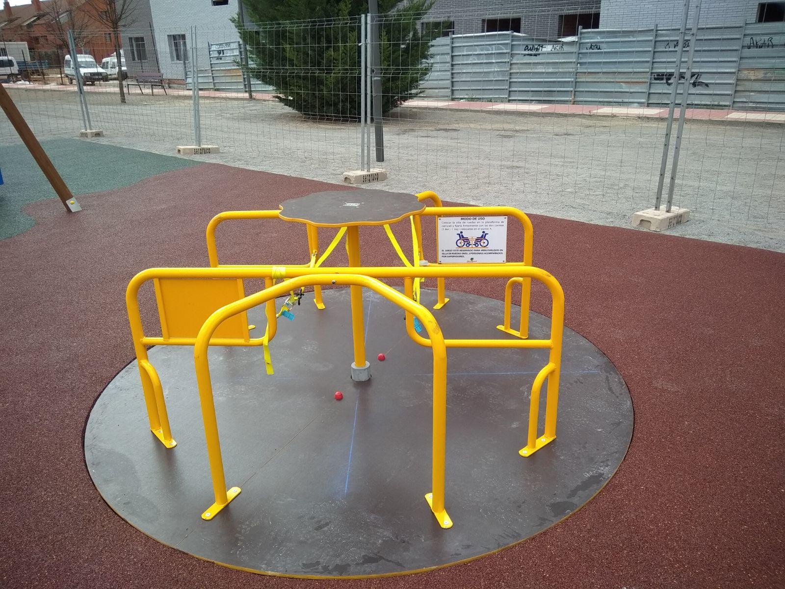 Parque Accesible en Teruel