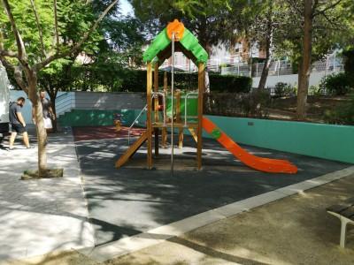 Juegos Infantiles y Suelo de Caucho en Paterna
