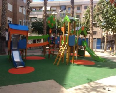 Juegos Infantiles y Suelo de Caucho en Massanassa