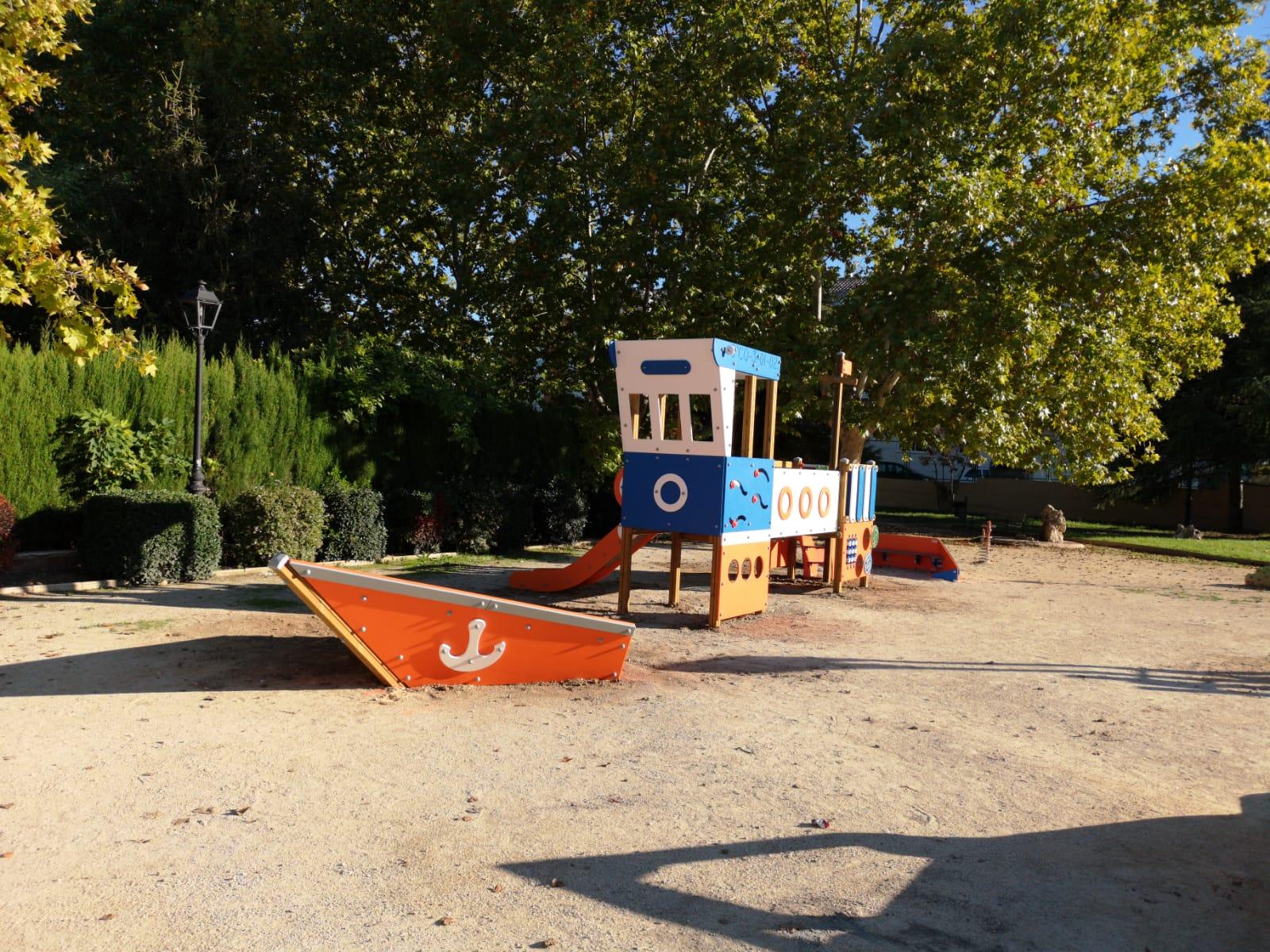 Parque Infantil en Muro de Alcoy