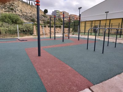 Parque de Calistenia en Ribesalbes