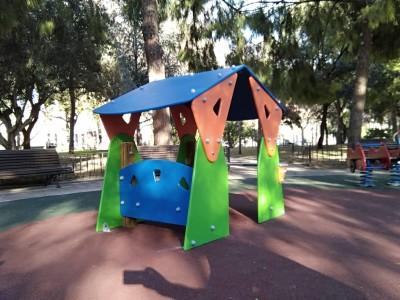 Casita infantil en el Parque del Oeste