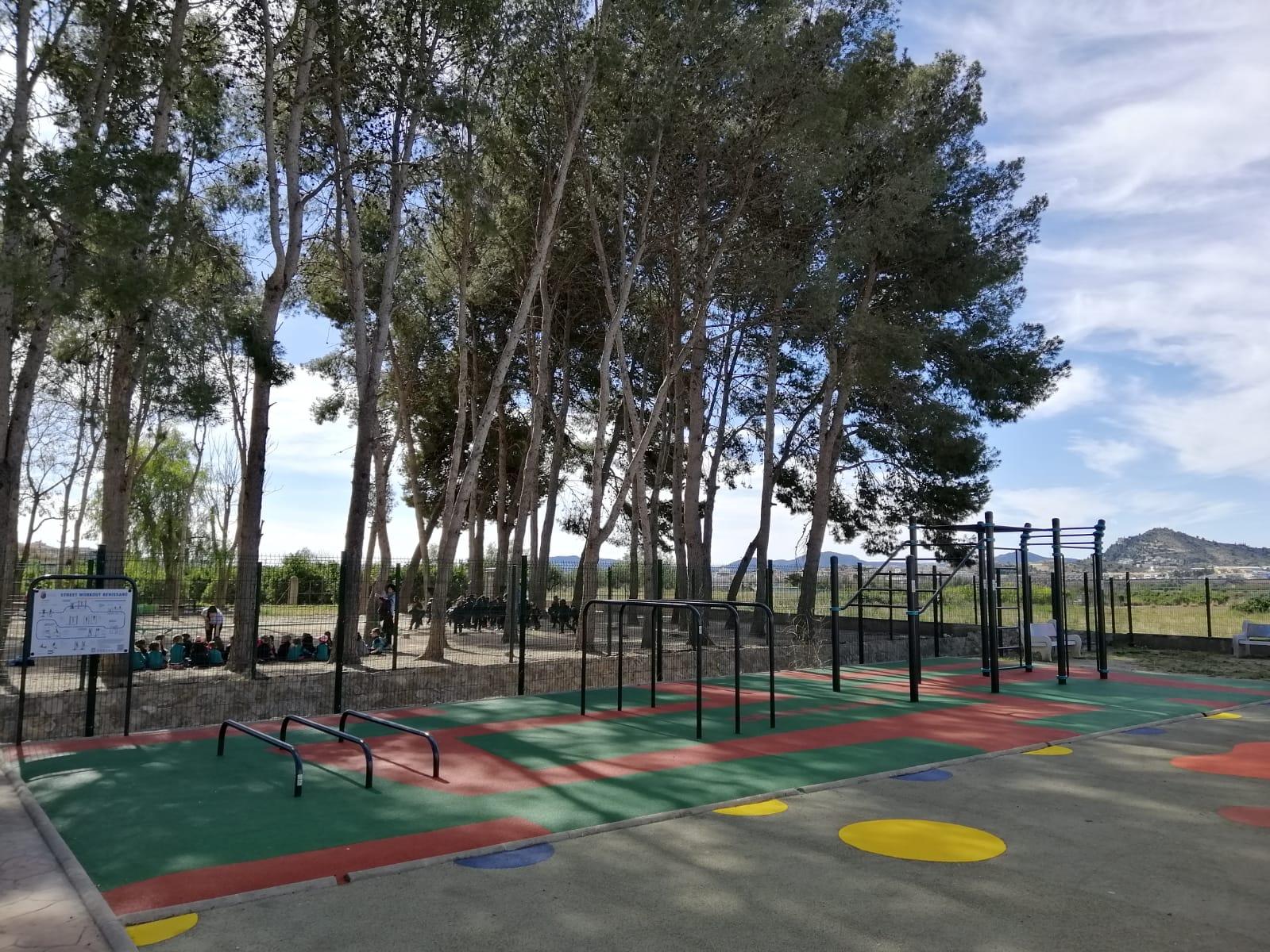 Parque de Calistenia en Benissanó