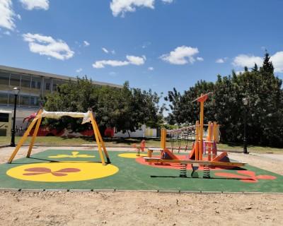 Juegos Infantiles y Suelo de Caucho en Montserrat