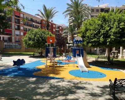 Juegos Infantiles y Suelo de Caucho en Manises