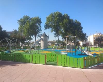 Juegos Infantiles y Suelo de Caucho en Torre-Pacheco