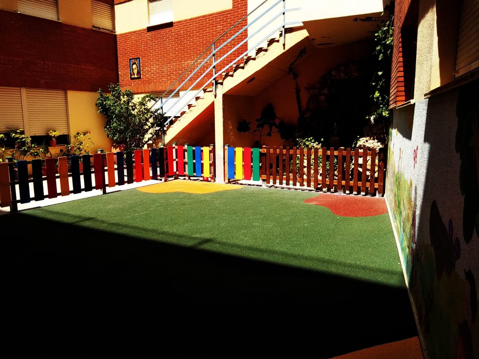 Suelo de Caucho en colegio de Cullera