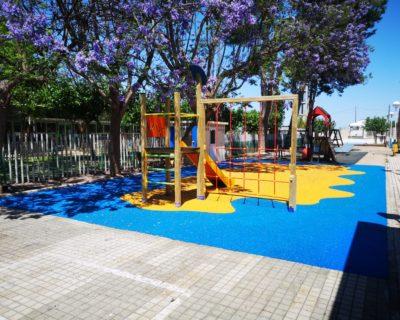 Suelo de Caucho en colegio de Guadassuar